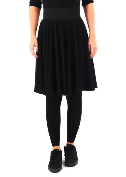 תמונה של חצאית DAN צבע שחור