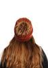 תמונה של כובע חלק עם פונפון